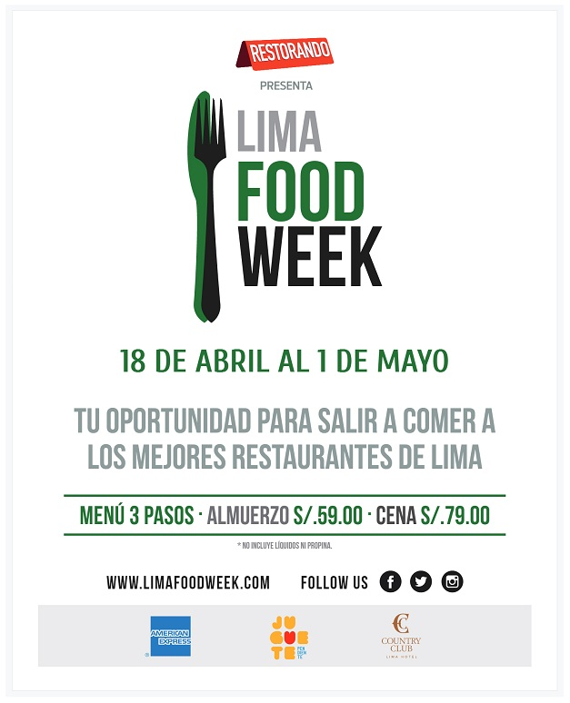Lima Food Week_sorteo_blog Fashion Everywhere por Ana López_www.fashioneverywhere.pe_1 (1)
