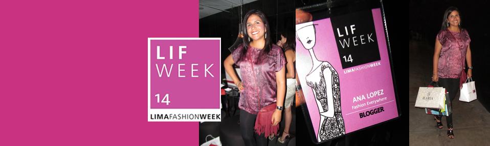 Cóctel fashion bloggers oficiales LIFWeek  #LIFWeekOI14